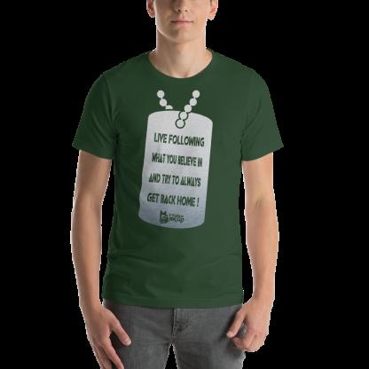 Matthew Skud Forest T-shirt