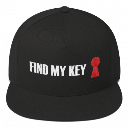 cappello find my key nero