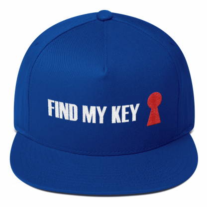 cappello find my key blu