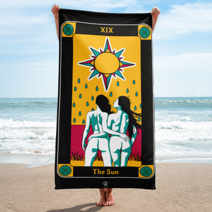Beach-Towel-The-Sun-IX