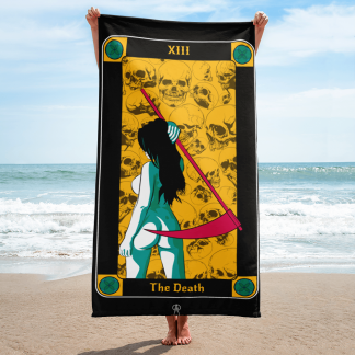 Beach-towel-the-death-tarots