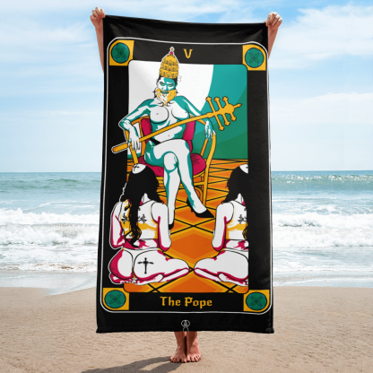 The-Pope-Beach-Towel