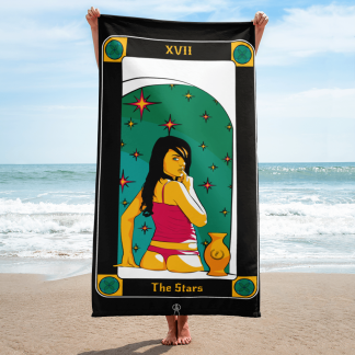 The-stars-beach-towel