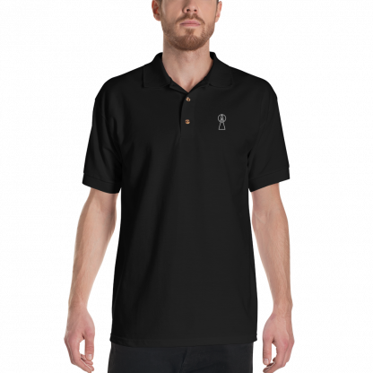keyhole-polo-man-black