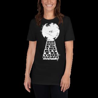 Keyhole-donna-maglietta-nera
