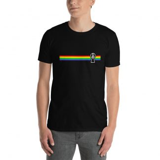 Rainbow T-Shirt Black