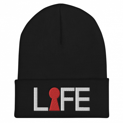 Life-Beanie-black