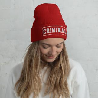 crimina-beanie-woman-red