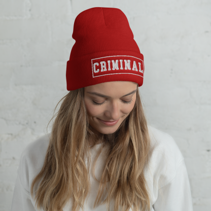 crimina-beanie-woman-red