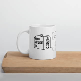 Think-outside-the-box-mug