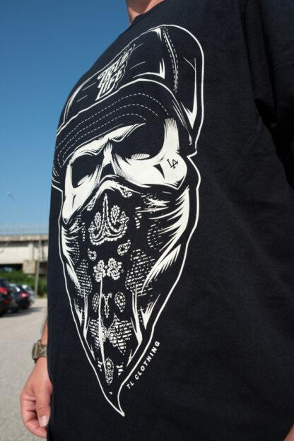 bandido-black-t-shirt-front-left