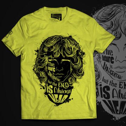 jim-morrison-t-shirt-yellow